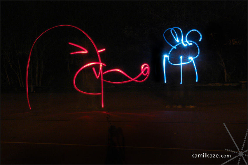 lightpainting-fly